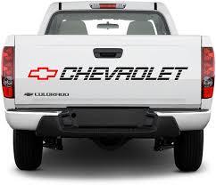 Amazon Com Orafol Bed Sticker Chevrolet Vinyl Decal Chevy Trucks Lettering Silverado Ss Tailgate Graphics Automotive