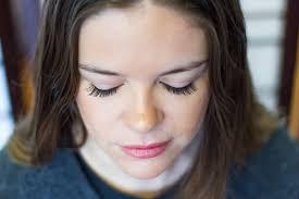 eyelash extensions and tinting