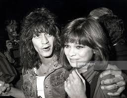 Eddie Van Halen and Valerie Bertinelli | Eddie van halen, Van halen, Valerie  bertinelli