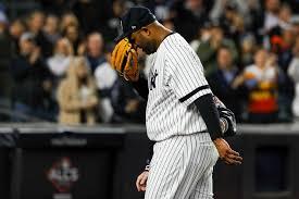 Shoulder injury ends Yankees pitcher CC Sabathia's postseason, career