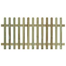 Grange Round Top Fence Panel W 1 8 M H 0 9m Pack Of 5 Departments Diy At B Q