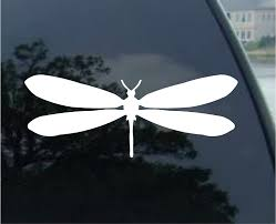 Amazon Com Dragonfly Car Truck Notebook Vinyl Decal Sticker 2571 Vinyl Color White Automotive