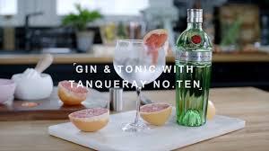 the tanqueray no ten gin tonic you