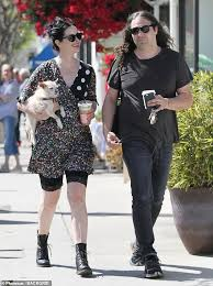 Krysten Ritter smiles during afternoon stroll with husband Adam Granduciel    Daily Mail Online