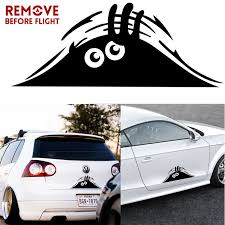 Car Stickers Funny Peeking Monster Auto Car Walls Windows Sticker Graphic Vinyl Cars Decals Car Styling Accessories Car Stickers Aliexpress