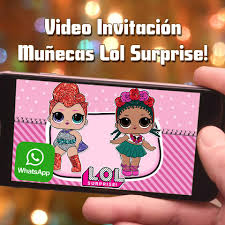 Videozas Video Invitacion De Munecas Lol Surprise Crea Facebook