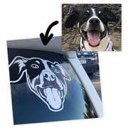Custom Pet Car Decal Sticker Crtn Me