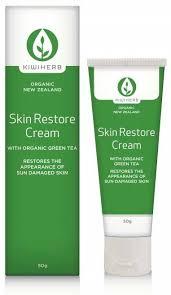 kiwiherb organic skin re cream 50g