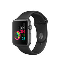 Apple Watch Series 1 - 42mm Space Gray Aluminum Case with Black Sport Band
