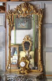 louis xv style mirror late 19th century