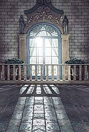 Vintage Castle Backdrop For Party Pillar Arch Window Brick Wall White Fence Retro Grey Interior Photography Studio Background 6924 Amazon Ca Tools Home Improvement