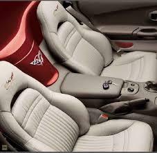corvette cover seat 100 leather sport