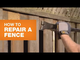 How To Repair Wooden Fence Rails