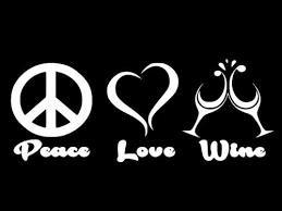 Peace Love Wine Vinyl Decal Car Wall Window Sticker Choose Size Color Home Garden Children S Bedroom Girl Decor Decals Stickers Vinyl Art