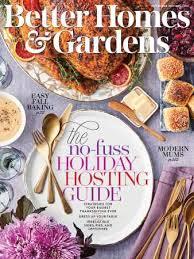 better homes gardens november 2019