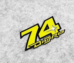New Motorsport Stickers Daijiro Katoh No 74 For Motorcycle Helmets Racing Motocross Sticker Car Truck Moto Decals Gp Sticker Moto Gp Stickersmoto Decals Aliexpress