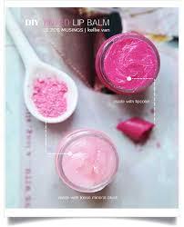 easy diy tinted lip balm natural