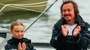 Greta Thunberg's father: 'She is happy, but I worry' - BBC News