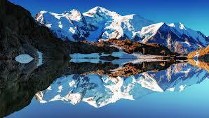 francuskie alps white mounn france