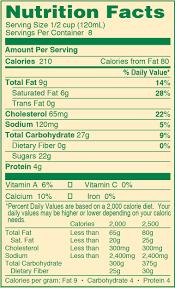 ud eggnog quart nutrition umpqua dairy