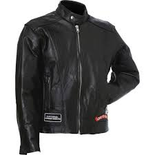 buffalo leather motorcycle jacket w