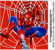Spiderman Etiquetas Para Candy Bar Para Imprimir Gratis