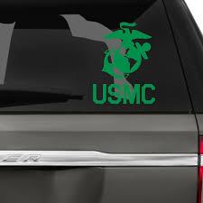 Usmc Logo Car Decal The Decal Guru
