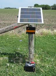 Solar Electric Gallagher Solar Electric Fence Charger
