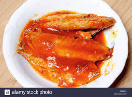 Mackerel In Tomato Sauce Stock Photos ...