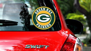 Green Bay Packers Circle Logo Vinyl Decal Sticker 10 Sizes Sportz For Less