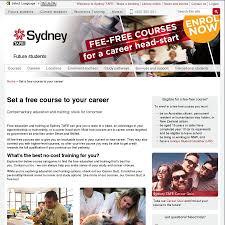 Free Courses by Sydney Tafe - OzBargain