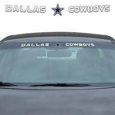 Team Promark Dallas Cowboys Windshield Decal In The Exterior Car Accessories Department At Lowes Com