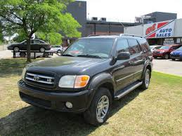 2003 toyota sequoia limited dvd leather