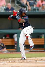Jacksonville Jumbo Shrimp outfielder Monte Harrison - August 29, 2018 Photo  on OurSports Central