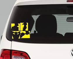 Cowboy Bebop Silhouettes Decal Sticker Etsy