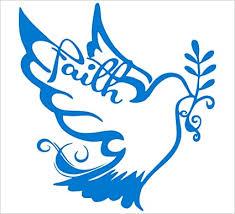 Amazon Com Faith Holy Spirit Dove Silhouette Vinyl 5 5 Color Blue Decal Laptop Tablet Skateboard Car Windows Stickers Computers Accessories