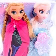 Đồ chơi búp bê công chúa Frozen Anna & Elsa 100AK – Babyhome Mỹ Ngọc
