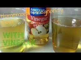 homemade pregnancy test with vinegar