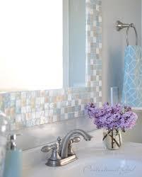 diy mosaic tile bathroom mirror diy