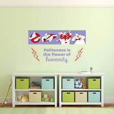 Humanity Ghostbusters Life Quote Cartoon Quotes Decors Wall Sticker Art Design Decal For Girls Boys Kids Room Bedroom Nursery Kindergarten Home Decor Stickers Wall Art Vinyl Decoration 15x30 Inch Walmart Com