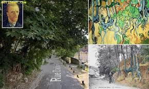 Daily uk news Exact spot where Van Gogh 'painted his final ...