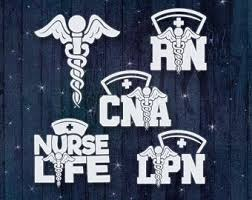 Cna Decal Etsy