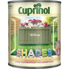 Cuprinol 5l Garden Shades Paint Willow Leekes