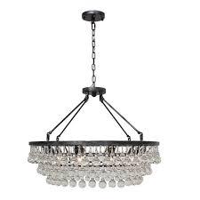 statement tiered chandelier