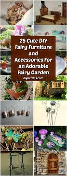 25 cute diy fairy furniture and