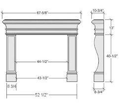 fireplace mantels