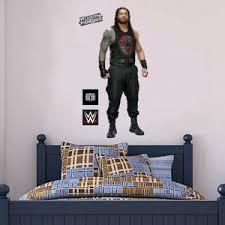 Wwe Wall Decal Roman Reigns Wrestler Sticker Mural Art Vinyl Art Bedroom Kids Ebay