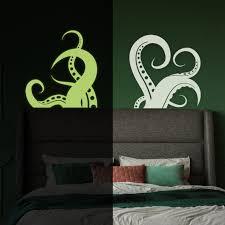 octopus vinyl wall art sticker