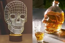 38 creepy cool gifts every skull lover