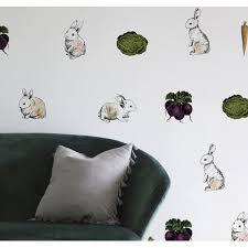 Urban Walls 40 Piece Cotton Tail Bunnies Wall Decal Set Wayfair